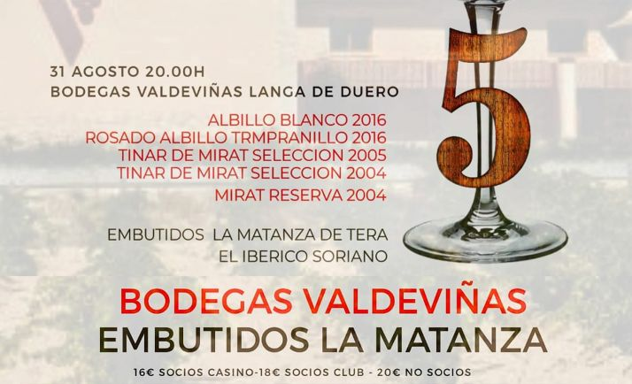 Foto 1 - Vinos de Langa y embutidos de Tera, el lunes en el Club de Catas del Casino