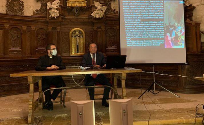 Una imagen de la conferencia. /DOS