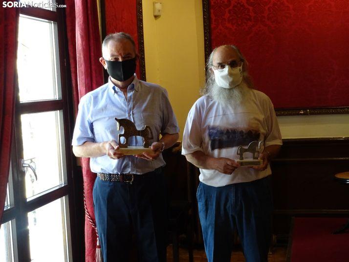 Foto 1 - GALERÍA: Javier Poch Zatarain gana el premio en 'Un soneto para Soria' con 'Locus Amoenus'