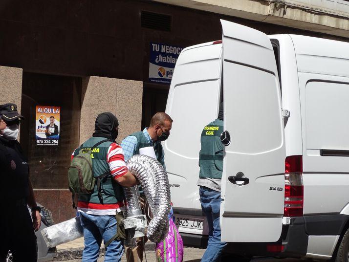 Foto 2 - Fotos: Varios detenidos en Soria en una gran operación antidroga