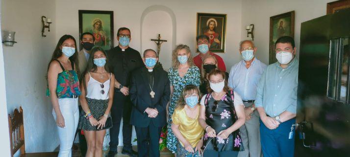 Foto 2 -  Beltejar celebra la rehabilitacón del retablo de la Pasión y las mejoras en la ermita de San Isidro