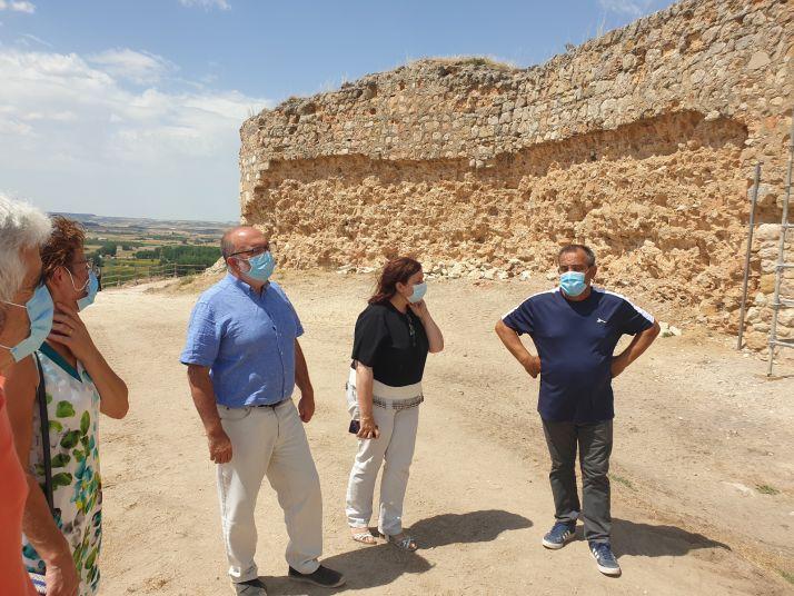 Foto 1 - Las obras del castillo de San Esteban de Gormaz estarán concluidas a finales de año