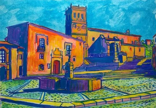 'Plaza Mayor, amanecer', de J. Tarodo.