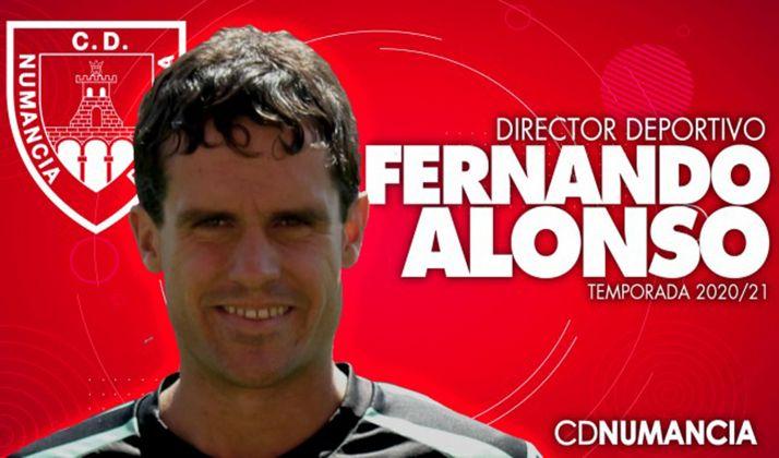 Foto 1 - Fernando Alonso, nuevo director deportivo del CD Numancia