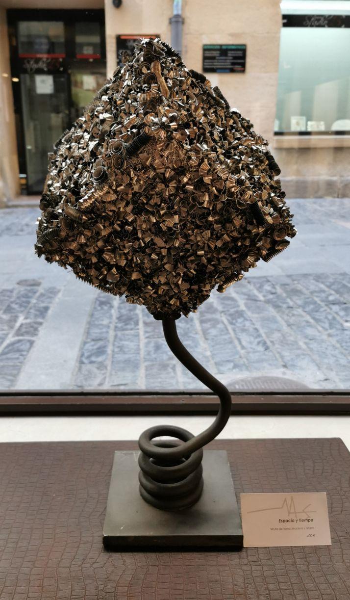 Foto 1 - cuARTEntena, obras de Miguel Ángel Sanchez inauguran el espacio de arte de la joyería Monreal