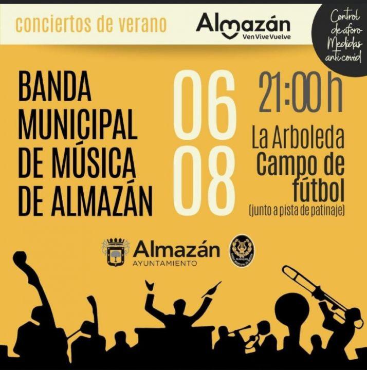 Foto 1 - La Banda de Almazán ofrece sus conciertos de verano: el próximo este sábado