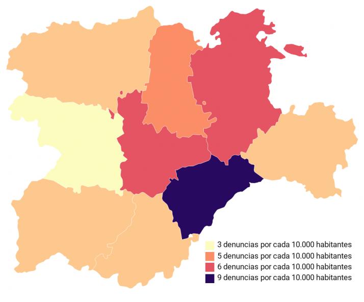 Foto 1 - Radiografía de la violencia de género en Castilla y León