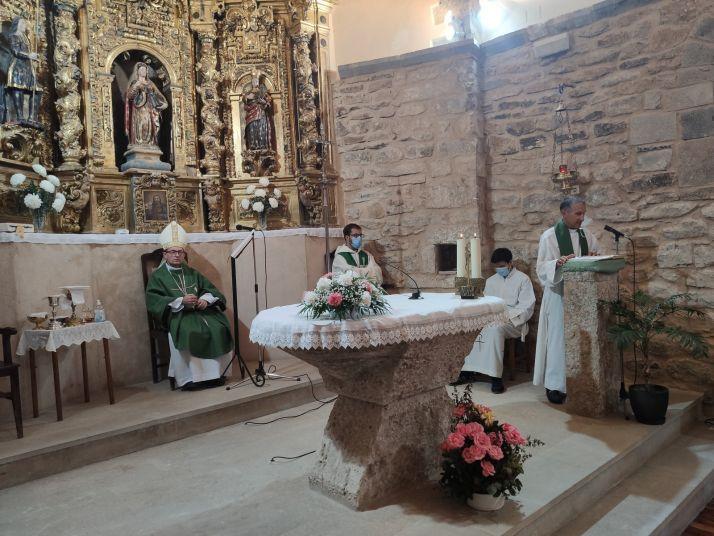 Foto 1 - Rehabilitada la Iglesia Parroquial de Santa Engracia, en Añavieja