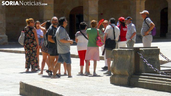 Foto 1 - Las consultas en oficinas de información turística se reducen un 46% en Soria, con respecto a años anteriores