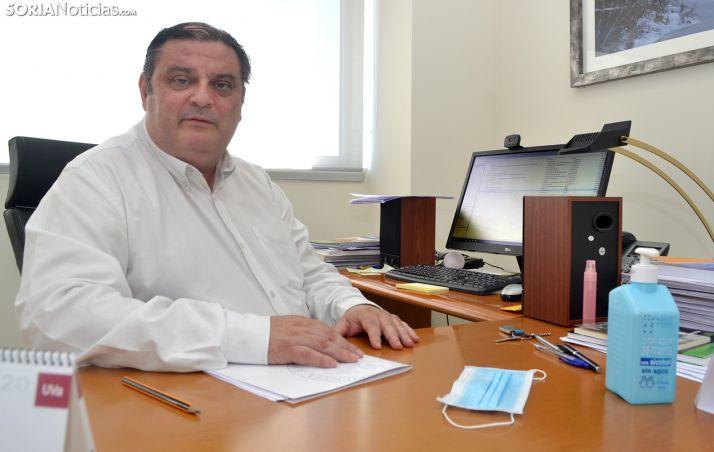 José Luis Ruiz Zapatero, vicerrector del Campus Duques de Soria. /SN