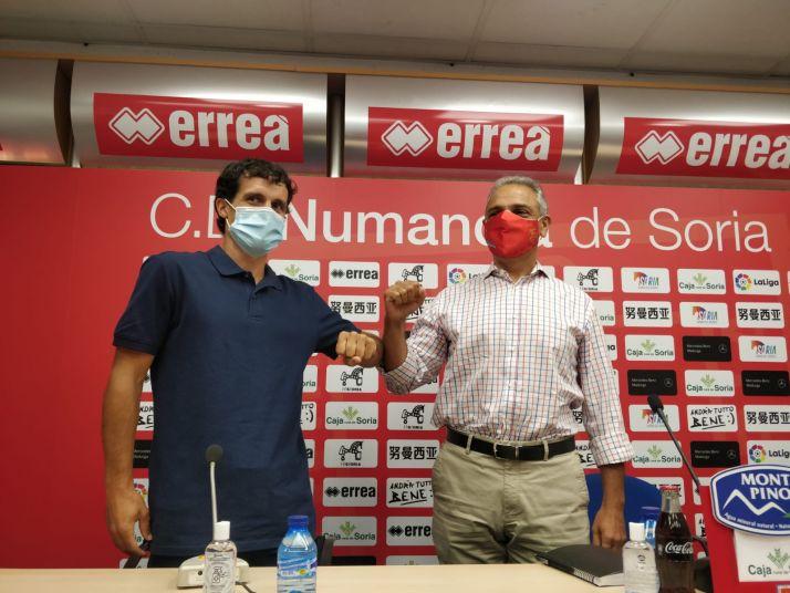 Foto 1 - Un soriano de cuna para devolver el éxito al CD Numancia
