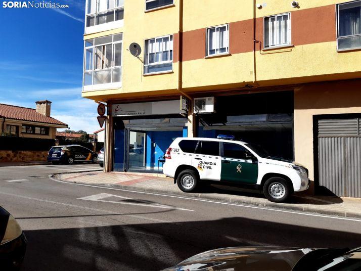 La operación antidroga de Soria se extiende a los barrios de la capital