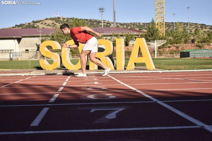 Entrenamientos del Atletismo Numantino y Las Celtíberas.