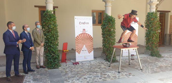 Foto 1 - La VIII edición del Festival Internacional de Circo de Castilla y León, llega a su fin