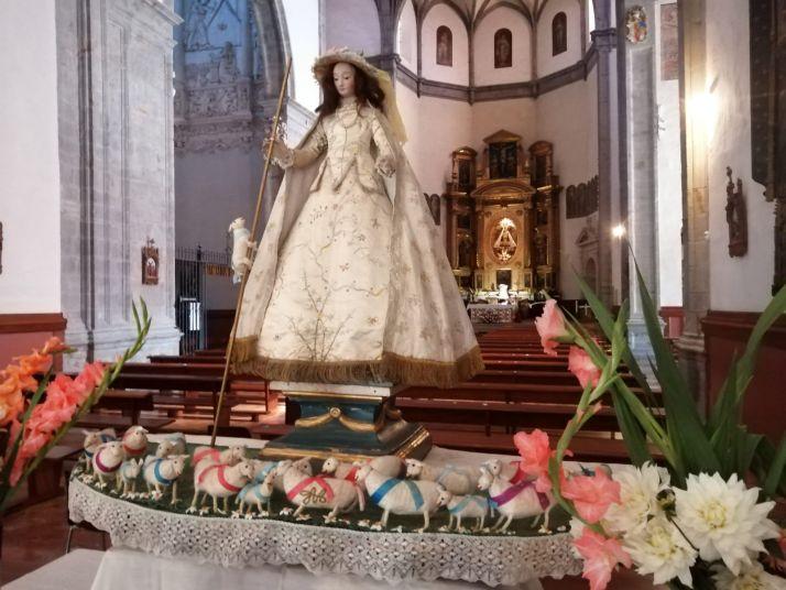 Foto 2 - Ágreda no se olvida de su `Virgen de los corderitos´