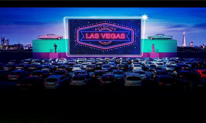Imagen promocional de Autocine Las Vegas.