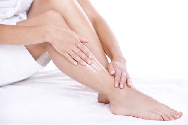 Hay que mantener el cuidado de las piernas