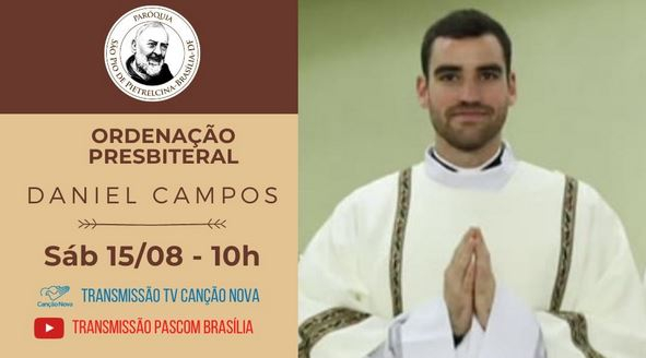 Foto 1 - El soriano Daniel Campos ordenado presbítero en Brasil