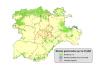Mapa de Montes de Utilidad Pública de Castilla y León.