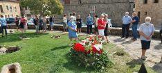 Homenaje a los fallecidos por coronavirus en Duruelo
