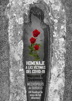 Foto 2 - Homenaje a los fallecidos por coronavirus en Duruelo