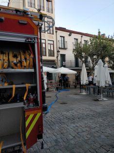Foto 3 - Incendio en una cocina de Herradores