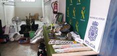 Foto 2 - Galería: Coches de alta gama y pelotas de tenis incautados en una macrooperación contra la droga en Soria