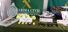 Foto 4 - Galería: Coches de alta gama y pelotas de tenis incautados en una macrooperación contra la droga en Soria