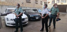 Foto 5 - Galería: Coches de alta gama y pelotas de tenis incautados en una macrooperación contra la droga en Soria