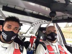 Agustín Álvaro, segundo en históricos del Rally Terra da Agua