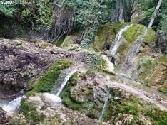 La cascada de la Toba luce espectacular a la espera de las primeras lluvias del otoño