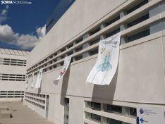 Foto 3 - Fotos: Arte para dar las gracias a los sanitarios que luchan contra el Coroanvirus