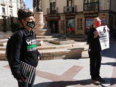 Foto 2 - AnimaNaturalis protesta en Soria contra las subvenciones concedidas por la Junta al sector taurino