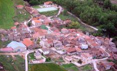 Vista aérea de la localidad.