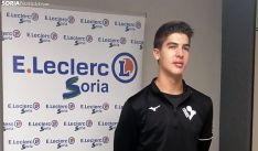 Lucas Lorente en su presentación oficial este miércoles. /SN