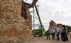 Una imagen de la visita oficial a la edificación. /Jta.