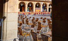Una imagen de la plaza Mayor de Salamanca.