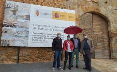 De izquierda a derecha, Jesús Barcones, Pilar Delgado, Miguel Latorre y Francisco Ceña. /SdG