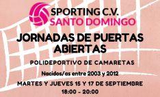 Sporting-Santo Domingo CV busca jóvenes jugadores