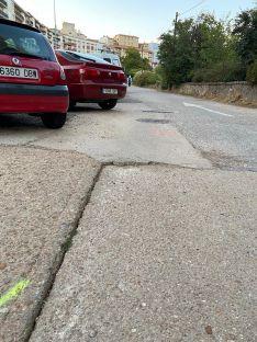 """Foto 3 - El PP municipal denuncia el """"lamentable"""" estado de la calle Puerta de Nájera"""