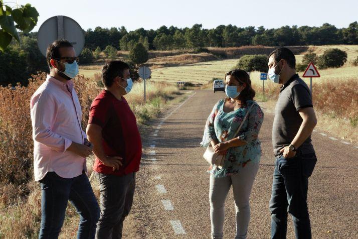 Foto 2 - El PSOE insta a la Junta de Castilla y León a aprobar un nuevo Plan de Carreteras consensuado