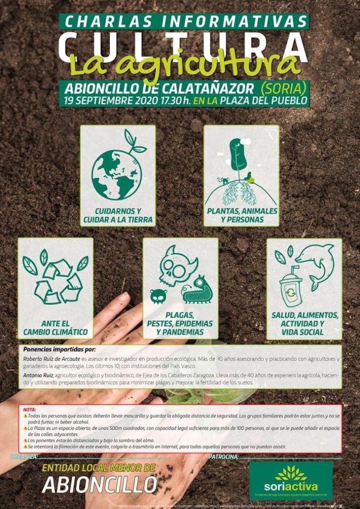 Foto 2 - Charla sobre agricultura ecológica en Calatañazor
