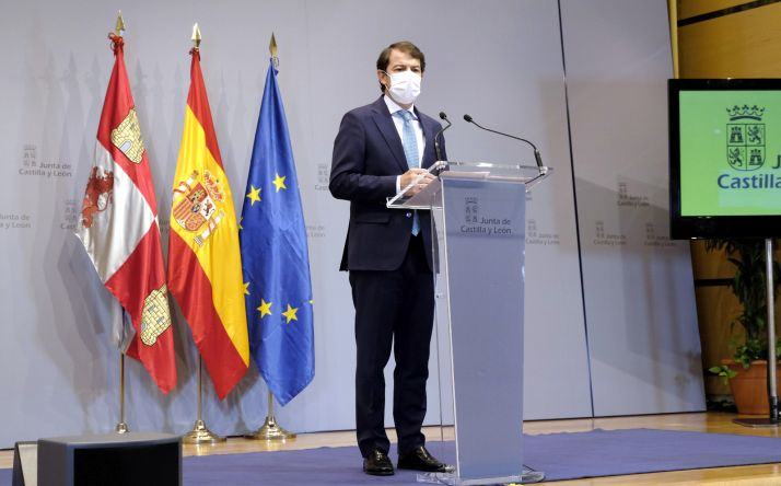 Comparecencia de Alfonso Fernández Mañueco.