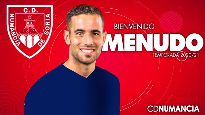 Juan Carlos Menudo. /CD Numancia