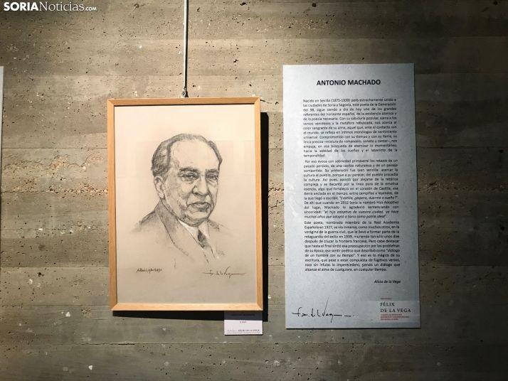 Foto 1 - GALERIA: Retratos de Félix de la Vega en La Audiencia