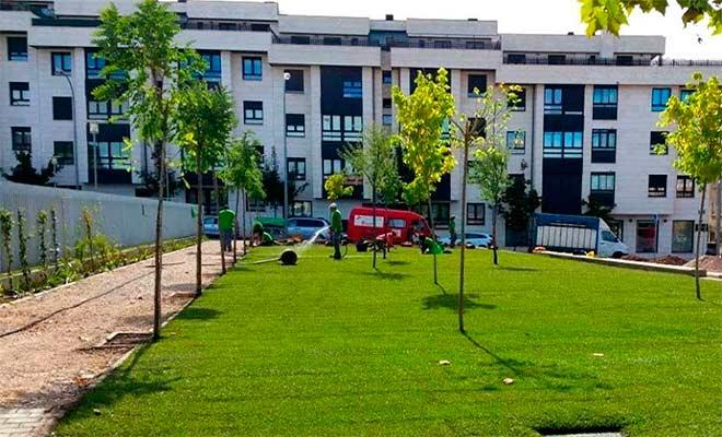 Foto 1 - El Ayuntamiento de Soria solicita un nuevo programa de formación Duques de Soria XV para jardinería