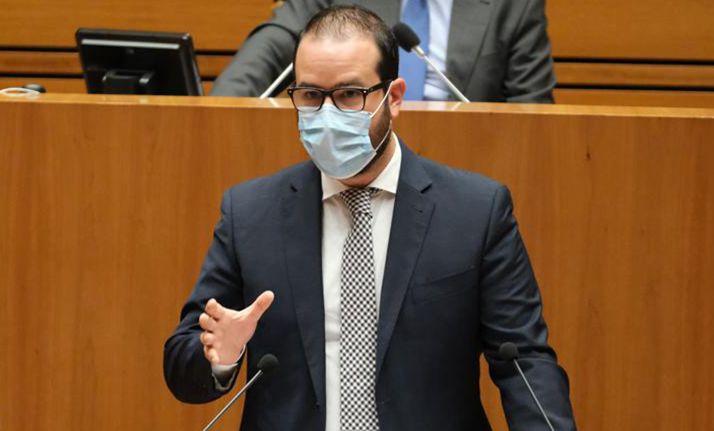 Ángel Hernández, procurador socialista soriano.