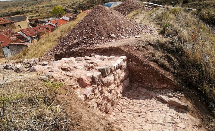 Excavaciones en Borobia.