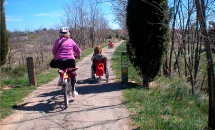 """Foto 1 - El Camino del Cid, """"ejemplo de buenas prácticas"""" para el proyecto europeo Eco-cicle"""