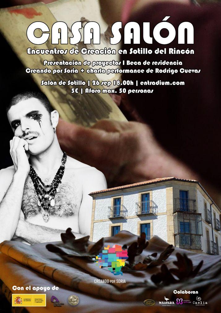 Foto 1 - Charla-performance del artista folclórico Rodrigo Cuevas en Sotillo del Rincón